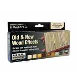 Vallejo Model Air Set - Old & New Wood Effects Set