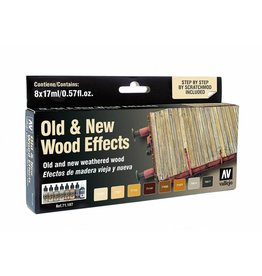 Vallejo Old & New Wood Effects Set