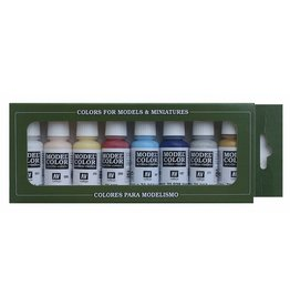Vallejo Face/Skin Colors Paint Set