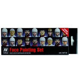 Vallejo Faces Painting Set (x8)