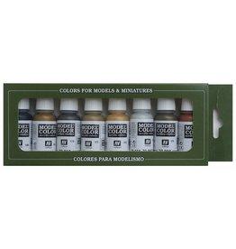 Vallejo AV Vallejo Model Color Set - Metallics (x8)