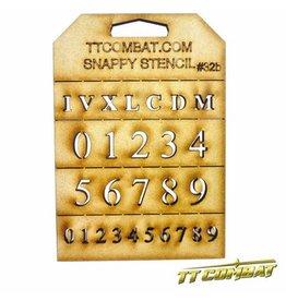 TT COMBAT Small Roman Numerals
