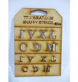 TT COMBAT Large Roman Numerals