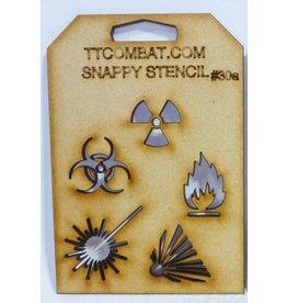 TT COMBAT Hazard Symbols A