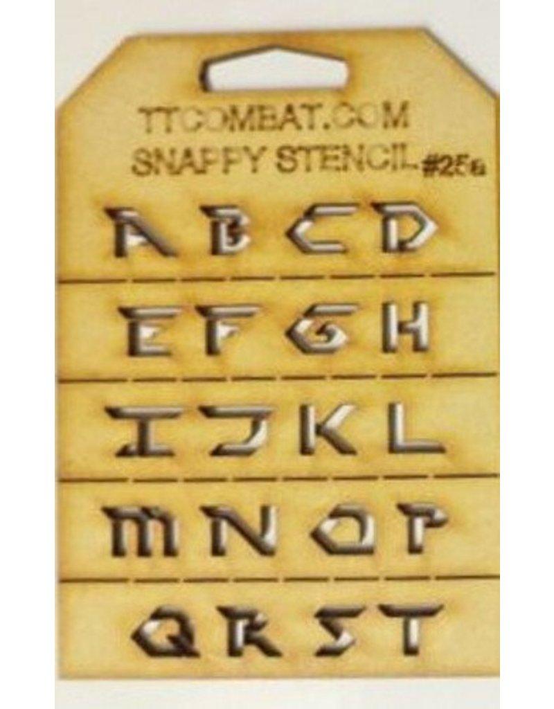 TT COMBAT Futuristic Letters (A-T)