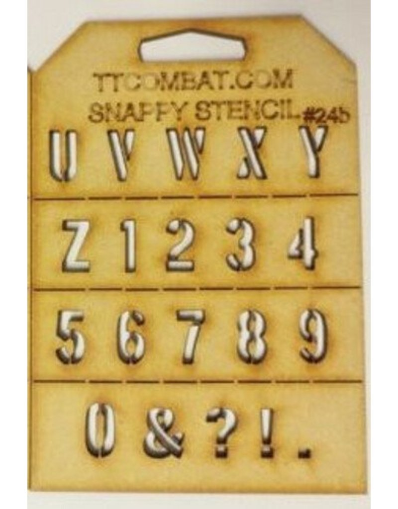 TT COMBAT Military Letters (U-9)