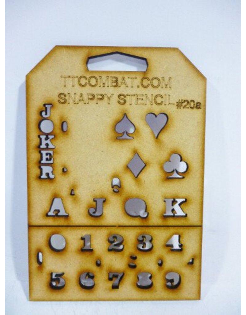 TT COMBAT Card Suits (Small)