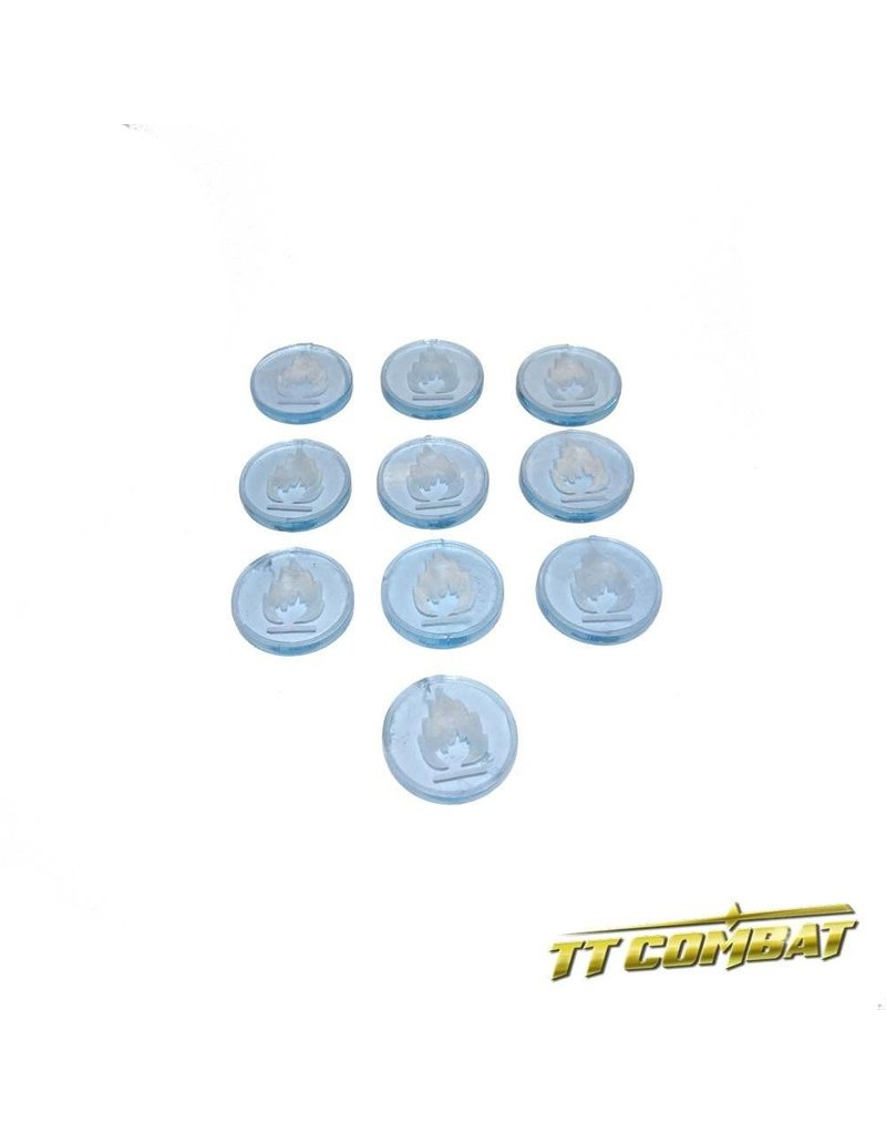 TT COMBAT Fire Condition Token (10)
