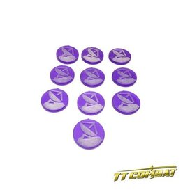 TT COMBAT Comms Station Sector Tokens (10)