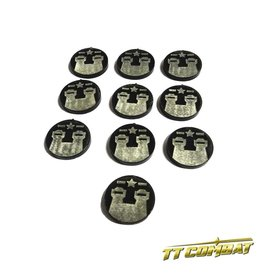 TT COMBAT Military Sector Tokens (10)