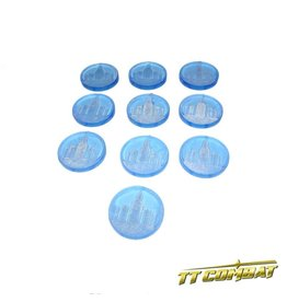 TT COMBAT Commercial Sector Tokens (10)