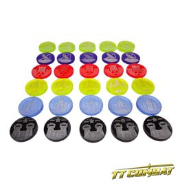 TT COMBAT Sector Tokens Set (30)