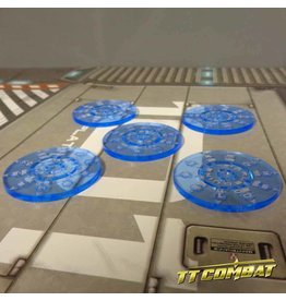 TT COMBAT Smoke tokens - Neptune Blue