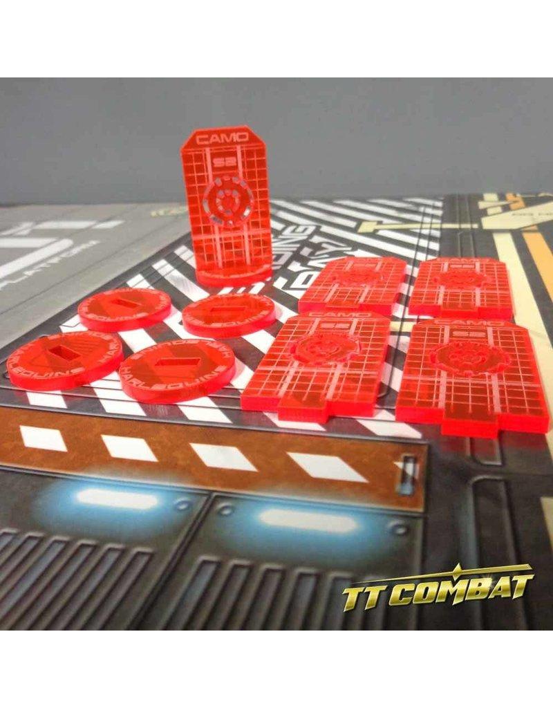 TT COMBAT Camo tokens - Mars Red