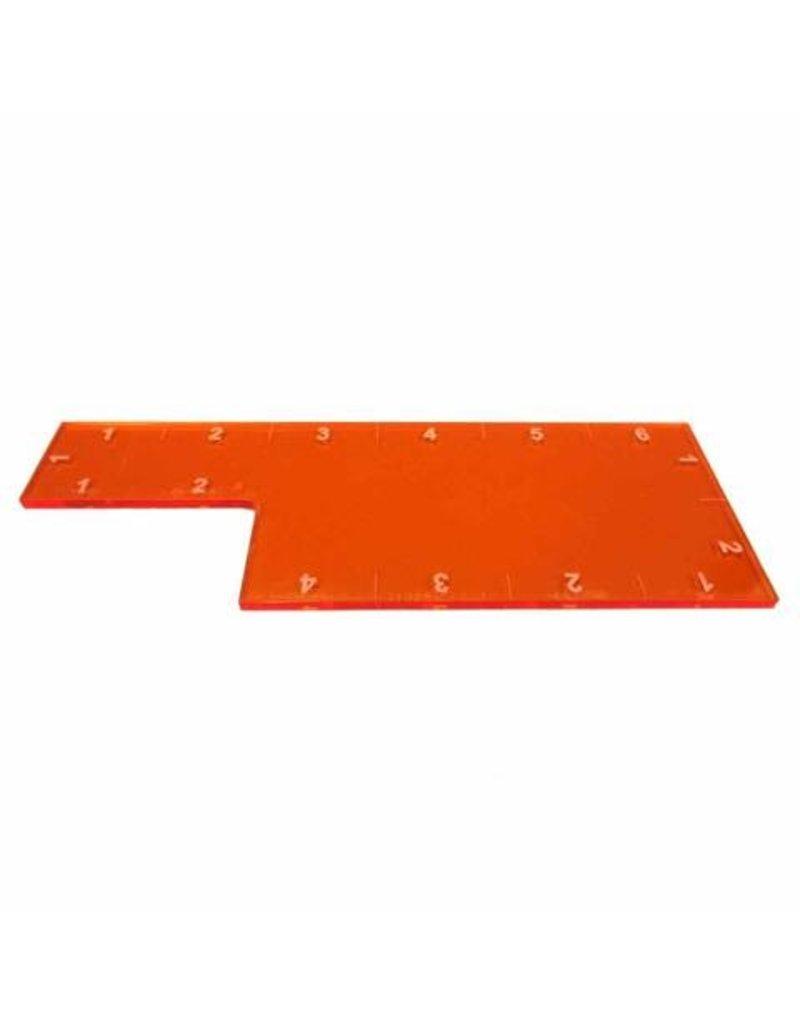 "TT COMBAT 6"" Range Ruler - Orange"
