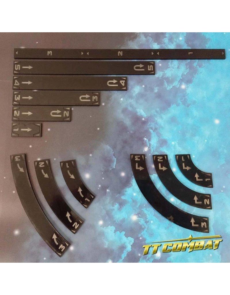 TT COMBAT Space-Wing Templates (Black)