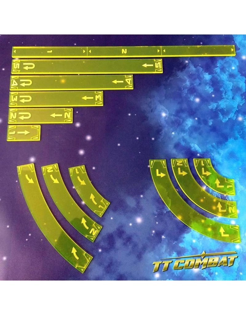 TT COMBAT Space-Wing Templates (Helios Yellow)