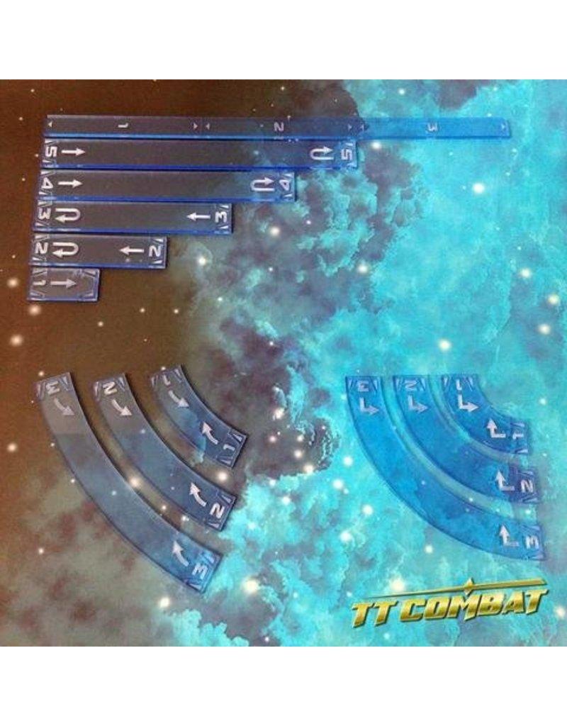 TT COMBAT Space-Wing Templates (Neptune Blue)