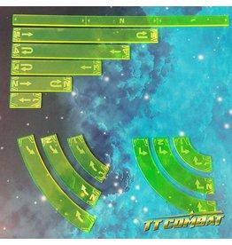 TT COMBAT Space-Wing Templates (Acid Green)