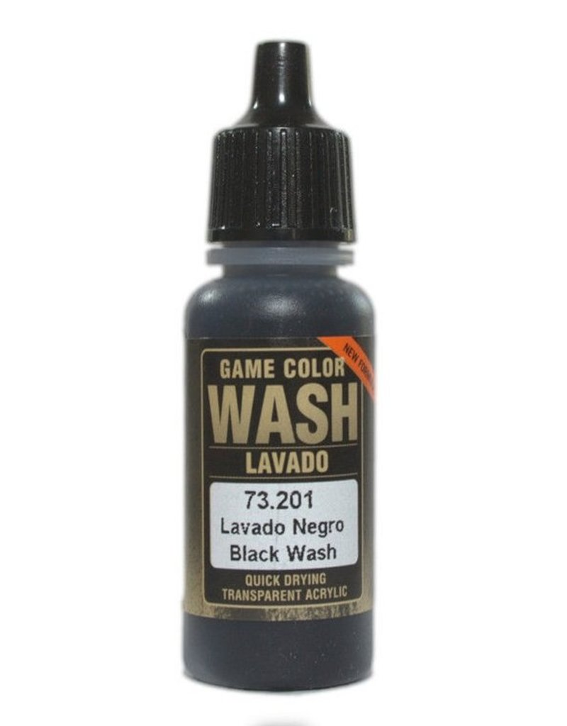 Vallejo Game Wash - Black Wash 17ml
