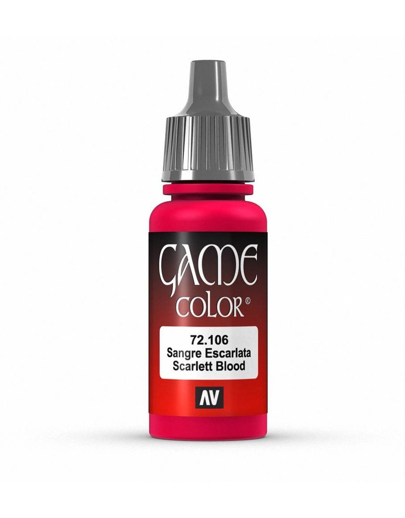Vallejo Game Color - Scarlett Blood 17ml