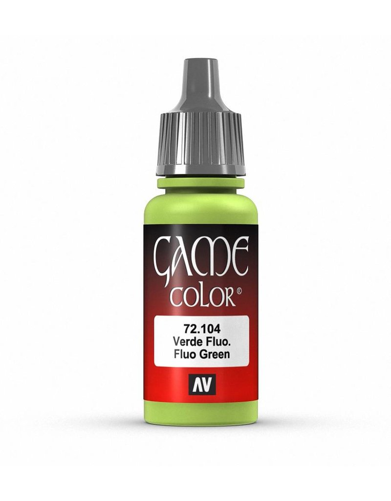 Vallejo Game Color - Fluo Green 17ml