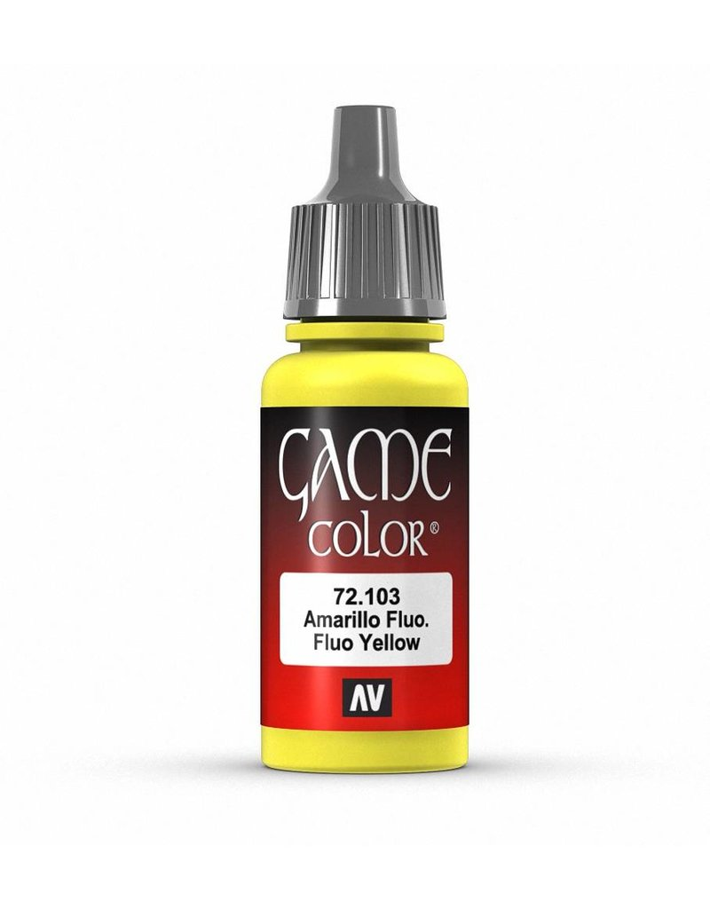 Vallejo Game Color - Fluo Yellow 17ml