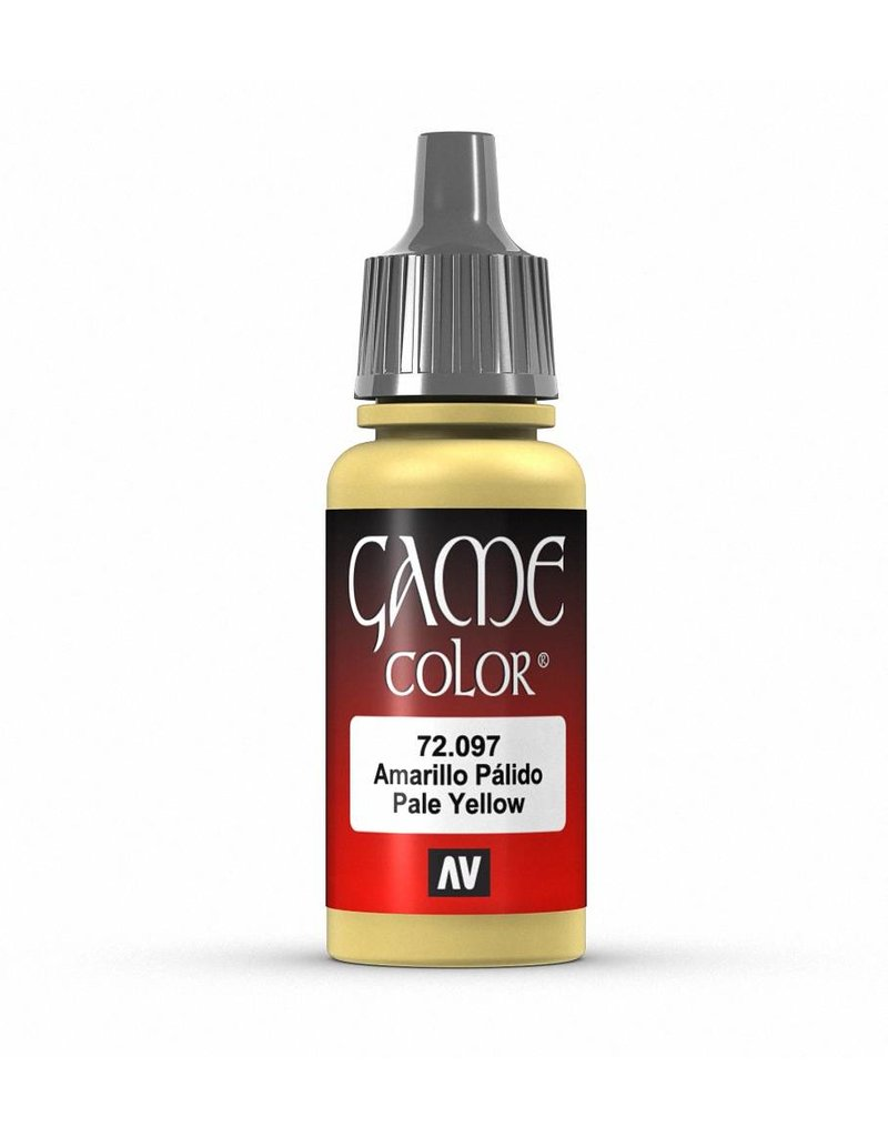 Vallejo Game Color - Pale Yellow 17ml