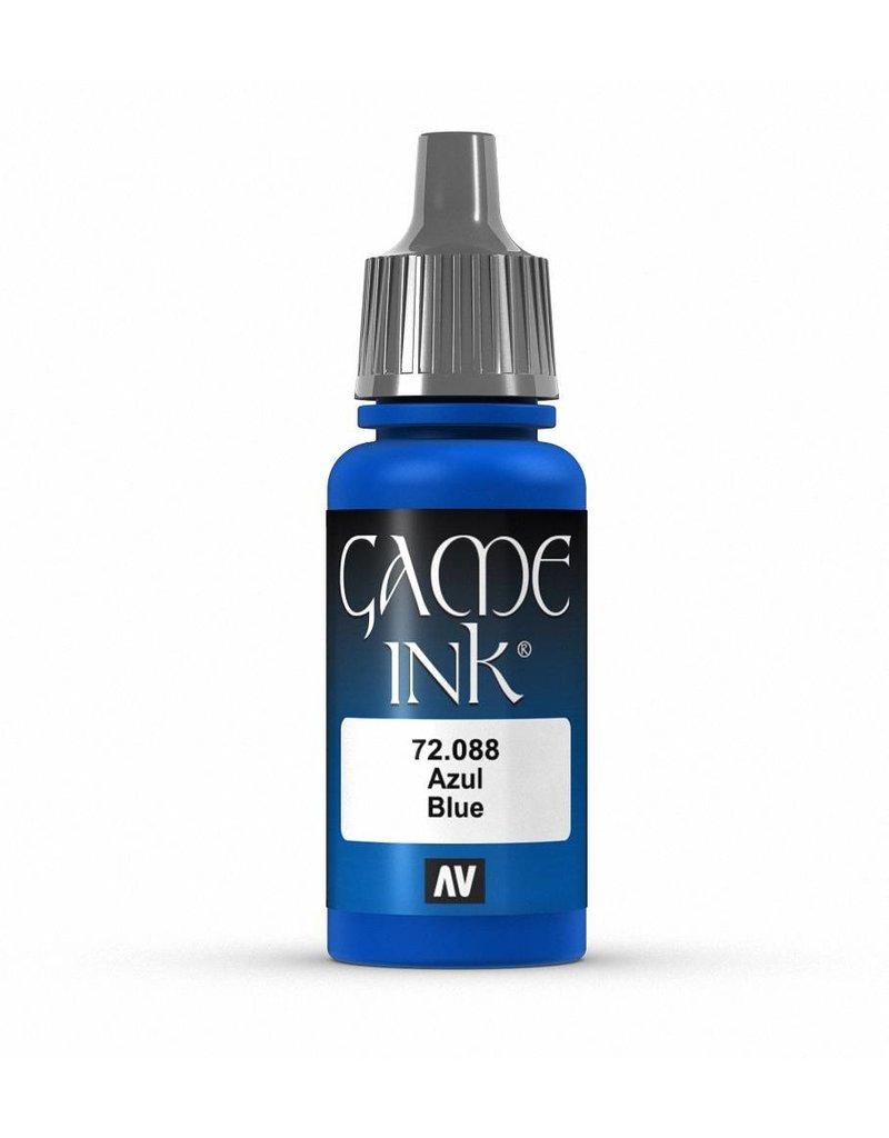 Vallejo Game Ink - Blue Ink 17ml