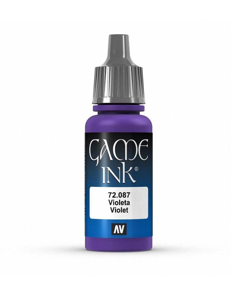 Vallejo Game Ink - Violet Ink 17ml