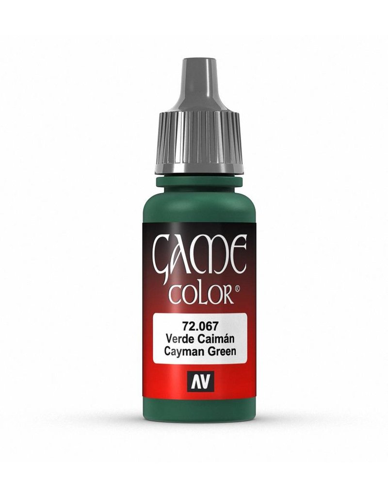 Vallejo Game Color - Cayman Green 17ml