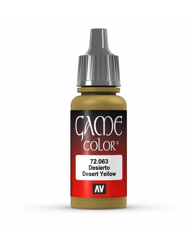 Vallejo Game Color - Desert Yellow 17ml