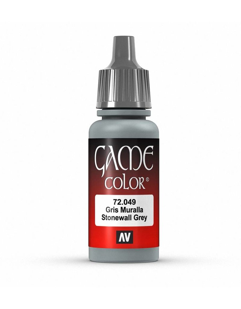 Vallejo Game Color - Stonewall Grey 17ml