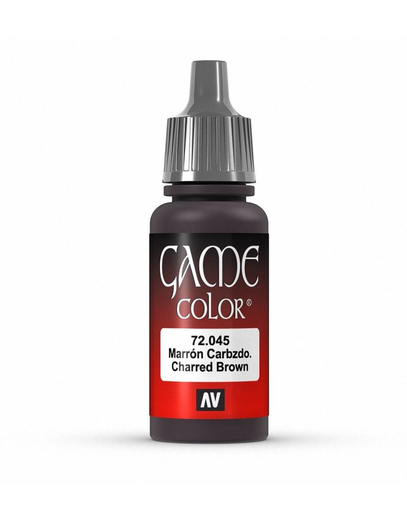 Vallejo Game Color - Charred Brown 17ml