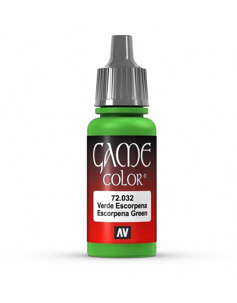 Vallejo Game Color - Escorpena Green 17ml