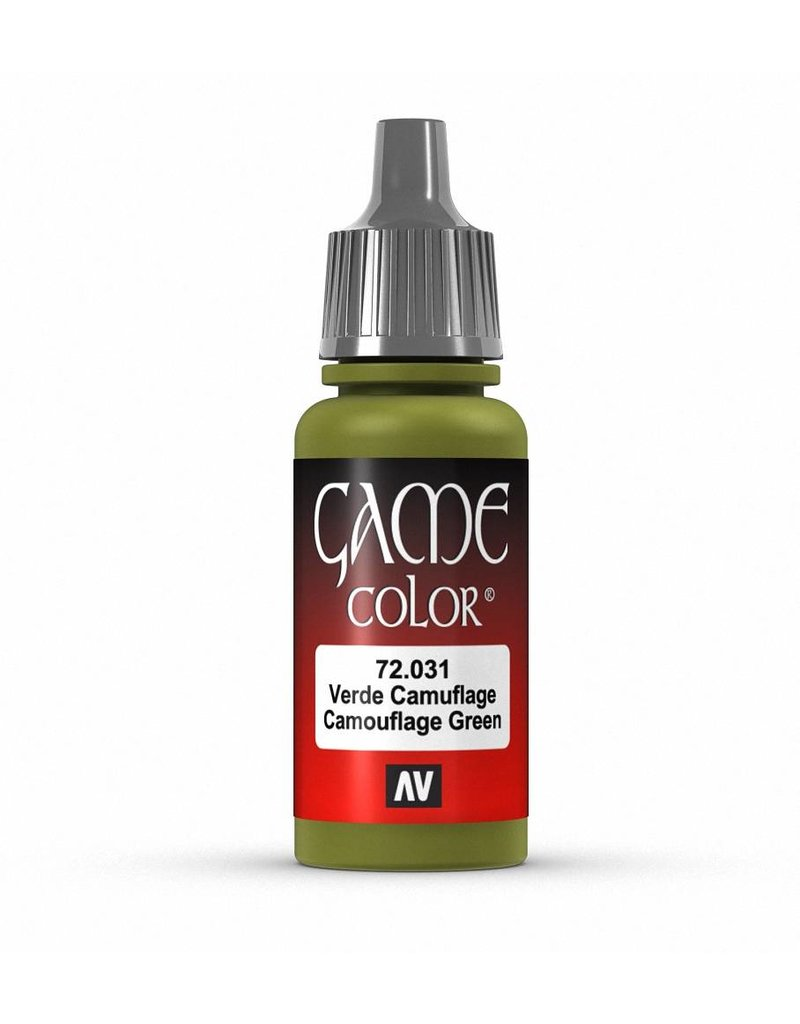 Vallejo Game Color - Camouflage Green 17ml