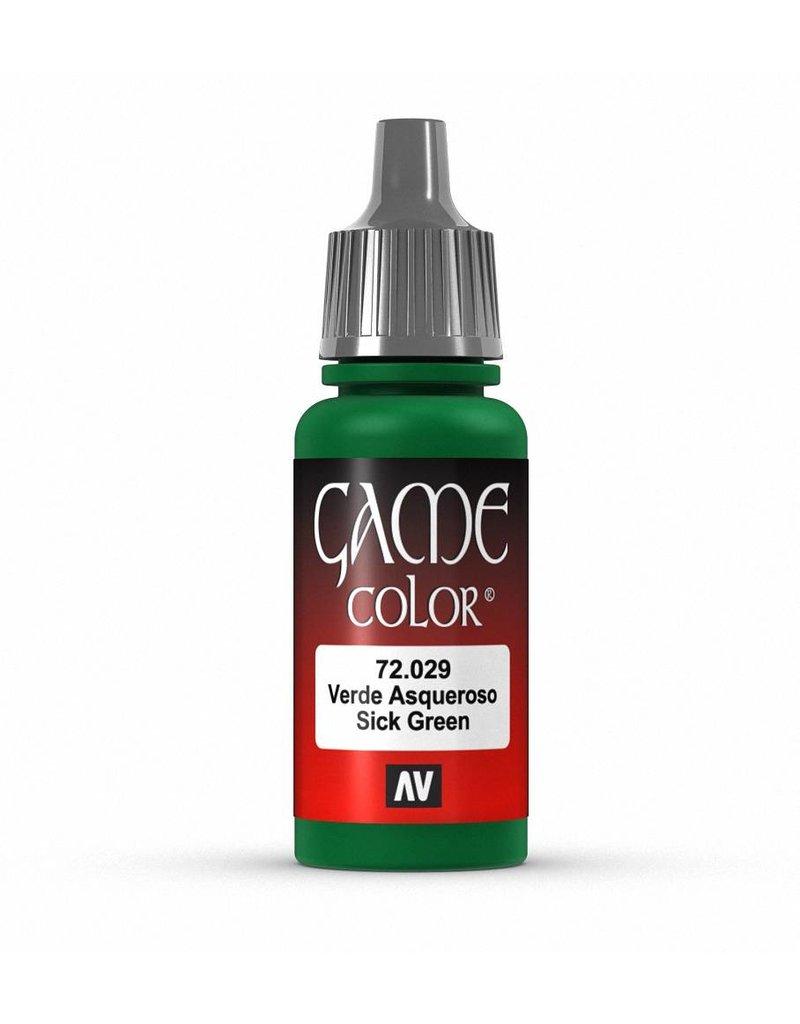 Vallejo Game Color - Sick Green 17ml