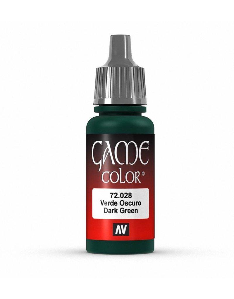 Vallejo Game Color - Dark Green 17ml