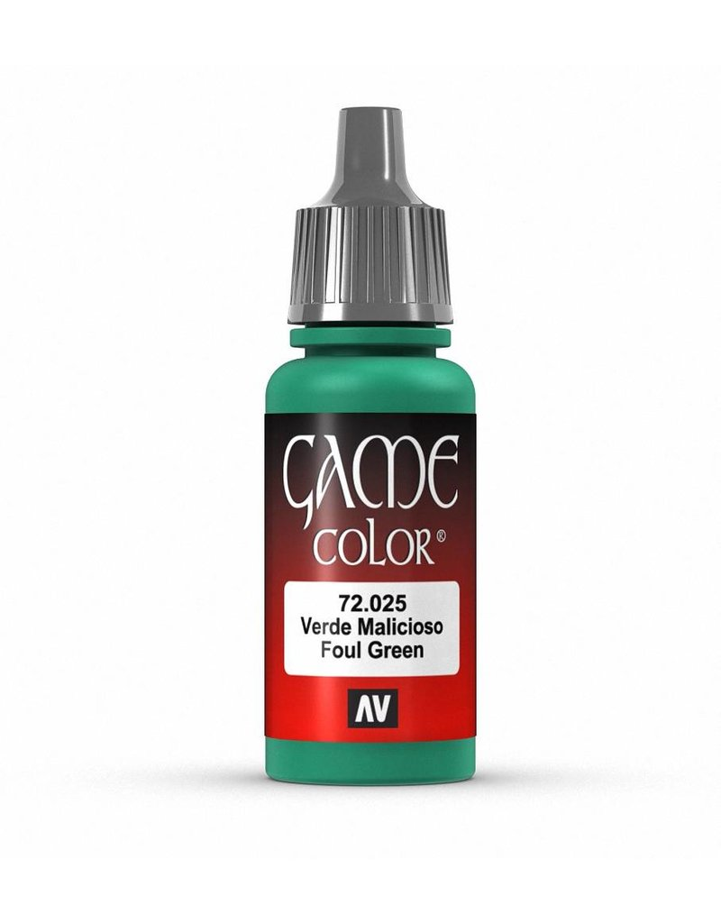 Vallejo Game Color - Foul Green 17ml
