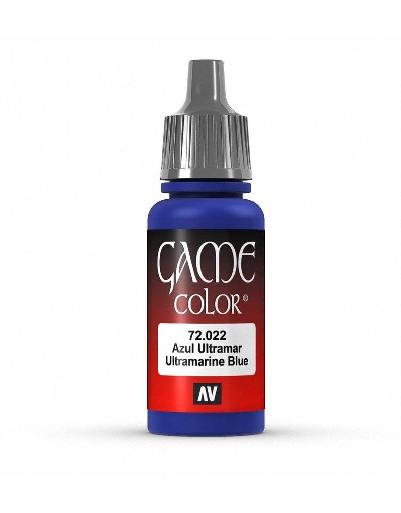 Vallejo Game Color - Ultramarine Blue 17ml