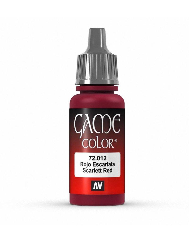 Vallejo Game Color - Scarlett Red 17ml
