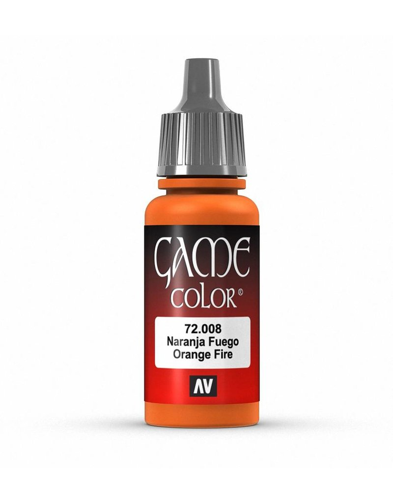 Vallejo Game Color - Orange Fire 17ml