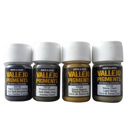 Vallejo Vallejo Pigments Set - Stone and Cement