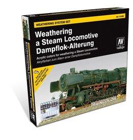 Vallejo Train Color - Steam Engine Weathering Set