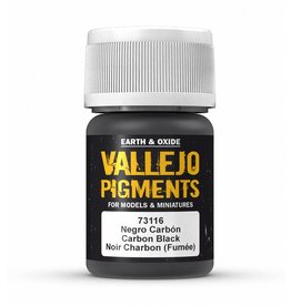 Vallejo Vallejo Pigments - Carbon Smoke