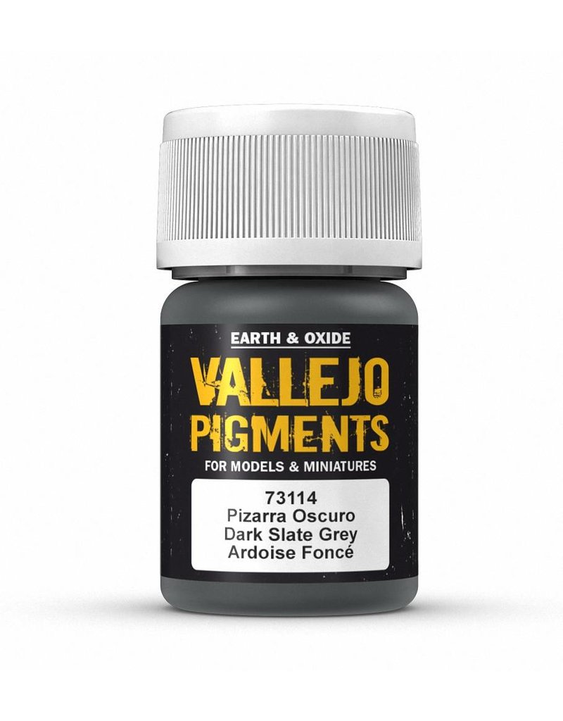 Vallejo Pigments - Dark Slate Grey 35ml