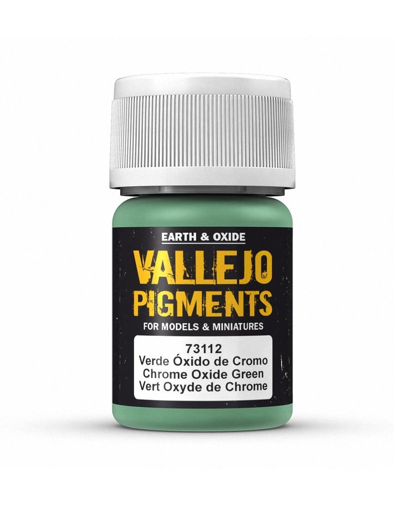 Vallejo Pigments - Chrome Oxide Green 35ml