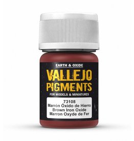 Vallejo Vallejo Pigments - Brown Iron Oxide