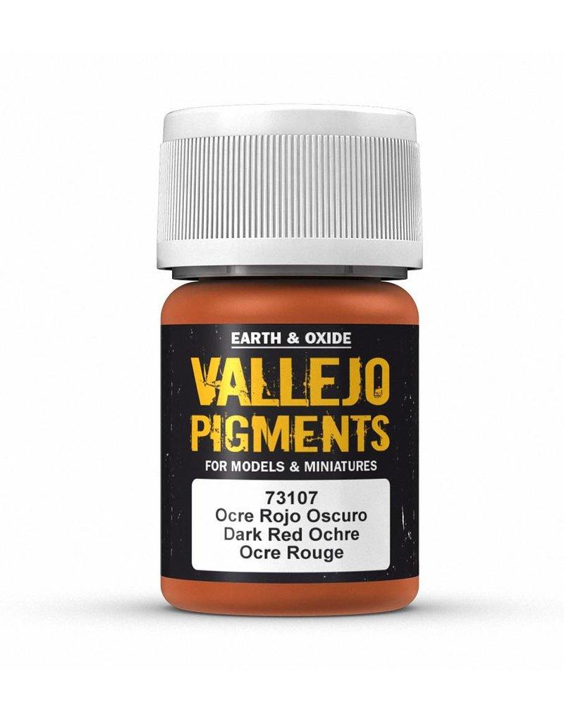 Vallejo Pigments - Dark Red Ochre 35ml