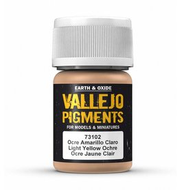 Vallejo Vallejo Pigments- Light Yellow Ocre